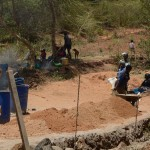 The Water Project: Mbindi Community B -  Construction