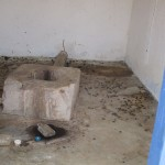 The Water Project: Gbaneh Bana SLMB Primary School -  School Latrine