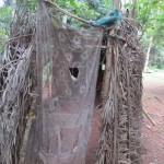 The Water Project: Tardie Community -  Bathing Shelter