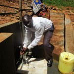 The Water Project: Mutambi Community -  Protected Spring