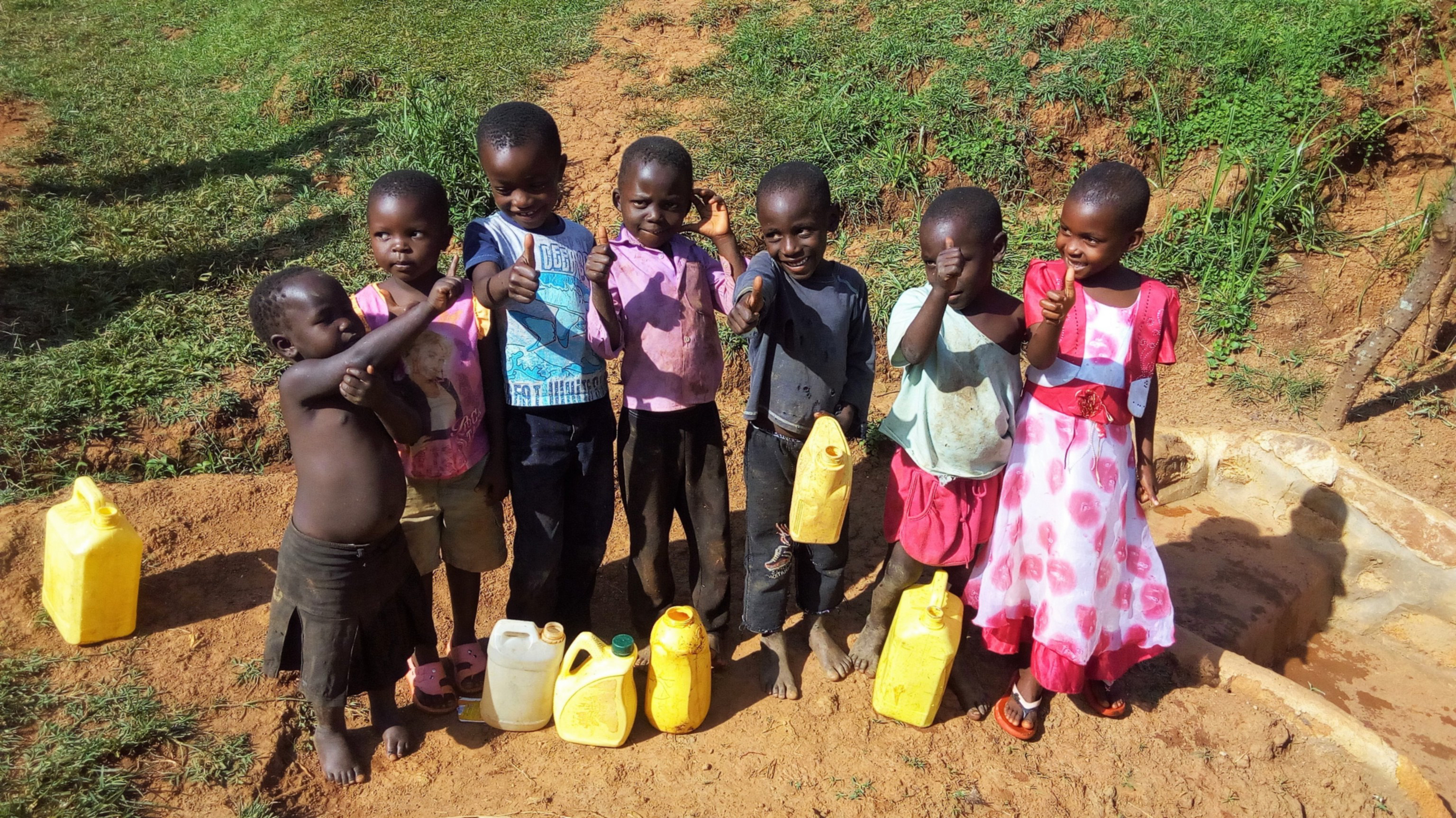 The Water Project : 25-kenya4711-children