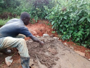 The Water Project : 25-kenya4715-sanitation-platform-construction