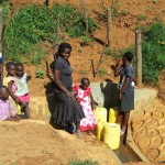 The Water Project: Shitaho Community B -  Fetching Water