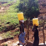 The Water Project: Shitaho Community B -  Carrying Water