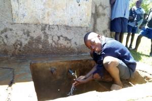 The Water Project : 3-kenya4597-student-preston-mwatsi