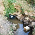 The Water Project: Mumuli Community, Shalolwa Spring -  Shalolwa Spring
