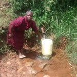 The Water Project: Isese Community -  Mrs Lubanga