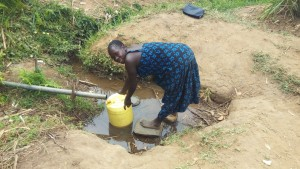 The Water Project : 3-kenya4747-fetching-water