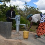 The Water Project: Katitu Community A -  Finished Well