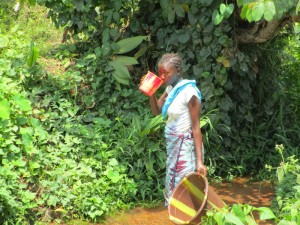 The Water Project:  Drinking Dirty Water