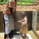 The Water Project: Mutambi Community, Kivumbi Spring -  Protected Spring