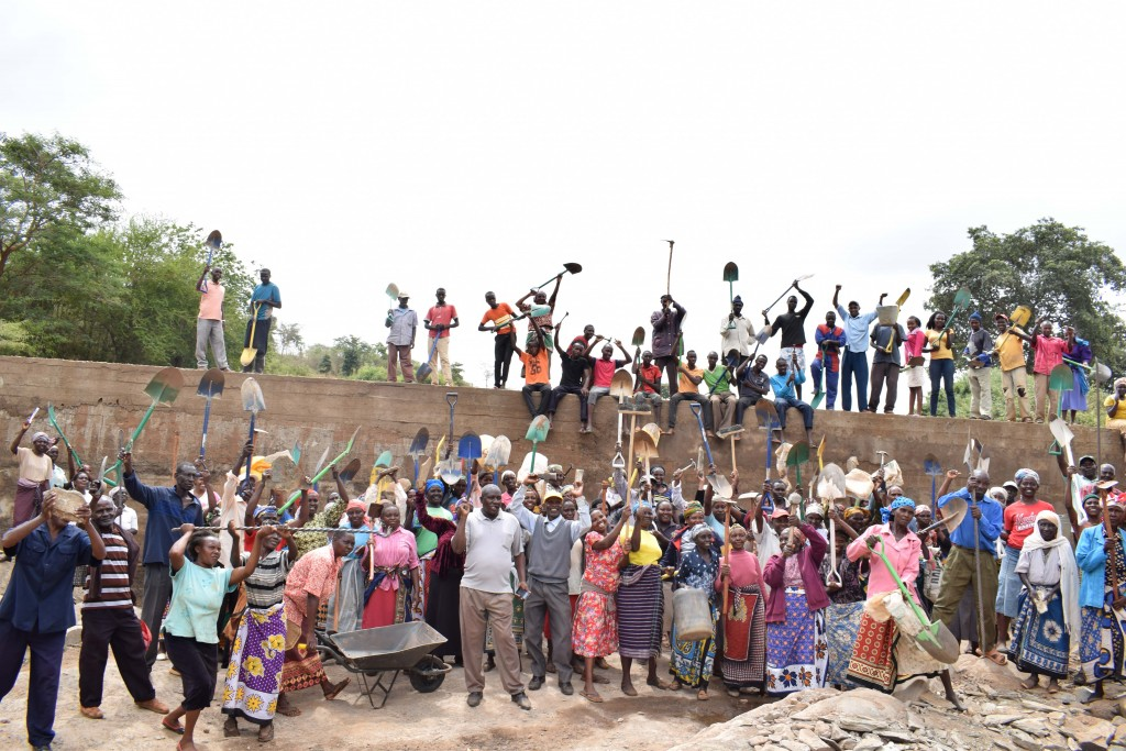 The Water Project : 33-kenya4760-finished-sand-dam