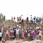The Water Project: Mbuuni Community -  Finished Sand Dam