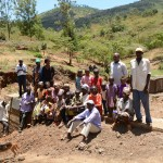 The Water Project: Mbindi Community B -  Finished Dam