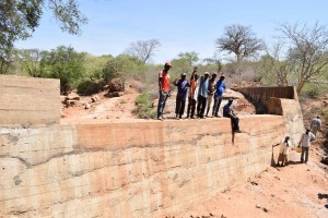 The Water Project : 39-kenya4759-finished-sand-dam