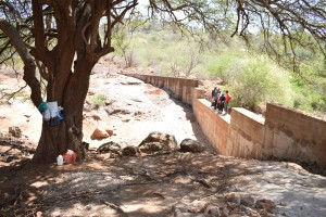 The Water Project : 40-kenya4759-finished-sand-dam