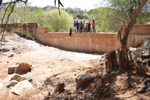 The Water Project : 41-kenya4759-finished-sand-dam