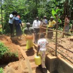 The Water Project: Mutambi Community, Kivumbi Spring -  Training