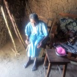 The Water Project: Lutonyi Community -  Widow Living By The Spring