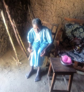 The Water Project:  Widow Living By The Spring