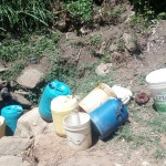 The Water Project: Handidi Community B -  Activity Around Matunda Spring