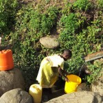The Water Project: Shitoto Community A -  Fetching Water