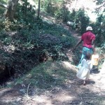 The Water Project: Elunyu Community, Saina Spring -  Walking Home