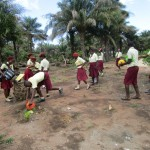 The Water Project : 5-sierraleone5132-students-playing-outside