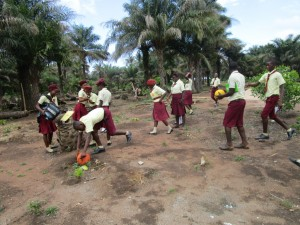 The Water Project:  Students Playing Outside