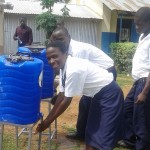 The Water Project: Rosterman Secondary School -  Hand Washing