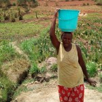 The Water Project: Mukhuyu Community, Shikhanga Spring -  Balancing Water