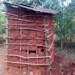 The Water Project: Isese Community -  Latrine