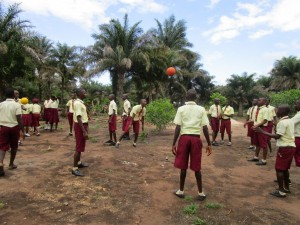 The Water Project : 6-sierraleone5132-students-playing-outside