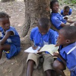 The Water Project: Gbaneh Bana SLMB Primary School -  Study Group
