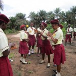 The Water Project : 7-sierraleone5132-students-playing-outside