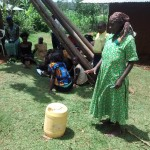 The Water Project : 8-kenya4715-woman-explains-how-they-handle-water
