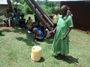 The Water Project:  Woman Explains How They Handle Water