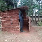 The Water Project: Nyira Community, Ondiek Spring -  Latrine