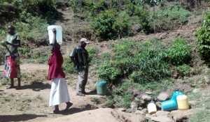 The Water Project : 8-kenya4739-carrying-water