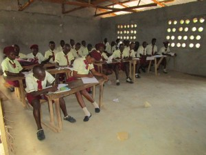 The Water Project : 8-sierraleone5132-students-in-class