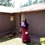 The Water Project: Shikoti Community B -  Mrs Timina At Her House