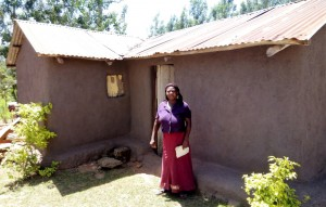 The Water Project:  Mrs Timina At Her House
