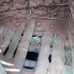 The Water Project: Isese Community -  Inside Latrine