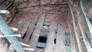 The Water Project : 9-kenya4745-inside-latrine