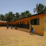 The Water Project: Gbaneh Bana SLMB Primary School -  School Compound