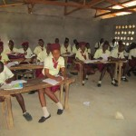 The Water Project: Ernest Bai Koroma Secondary School -  Students In Class