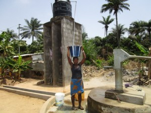 The Water Project:  Seasonal Well When Functional