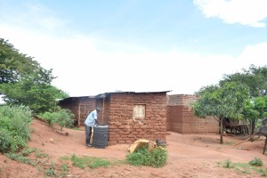 The Water Project:  Family Water Storage