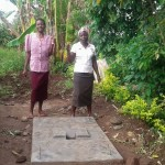 The Water Project: Eshiakhulo Community -  Sanitation Platform