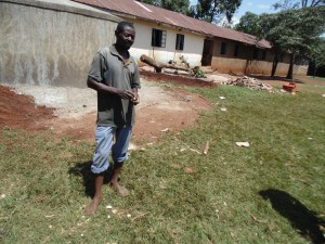The Water Project:  Naftali Olilo Field Worker